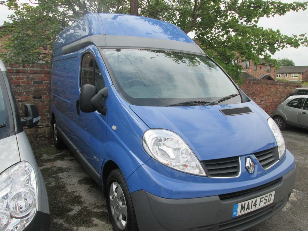 RENAULT TRAFIC Other 2.0 dCi LH29 Phase 3 High Roof Van 4dr (EU5, Nav)