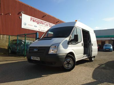 FORD TRANSIT Panel Van 2.2 TDCi 280 S Low Roof Panel Van 5dr Diesel Manual (EU5, SWB) (98 bhp)