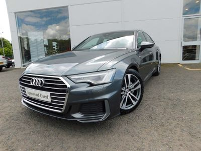 AUDI A6 SALOON Saloon 2.0 TDI 40 S line S Tronic quattro (s/s) 4dr