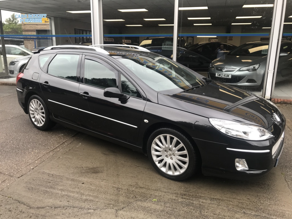 PEUGEOT 407 SW Estate 2.2 HDi Sport XS 5dr