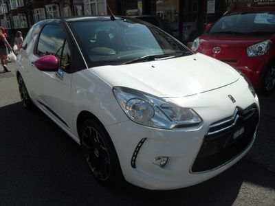 CITROEN DS3 CABRIO Convertible 1.6 VTi DStyle By Benefit Cabriolet 2dr