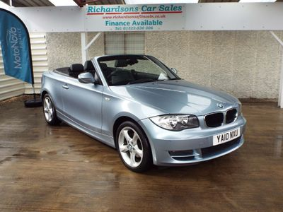 BMW 1 SERIES Convertible 2.0 120d SE 2dr