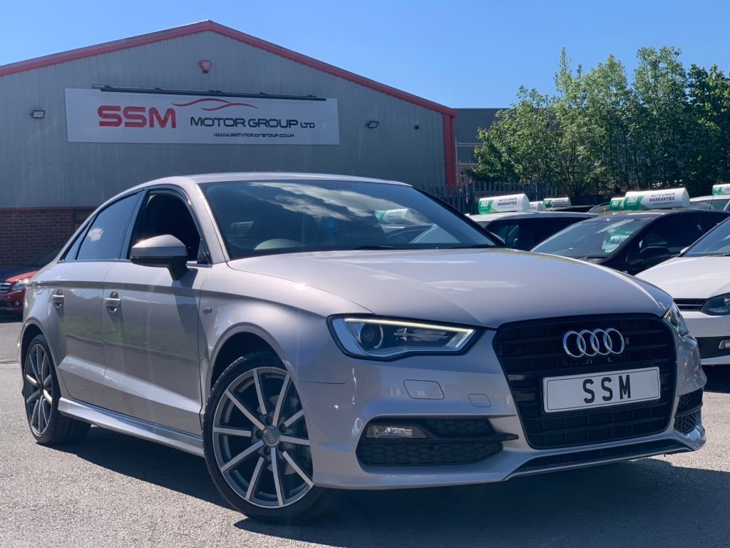 AUDI A3 Saloon 2.0 TDI S line S Tronic (s/s) 4dr (Nav)