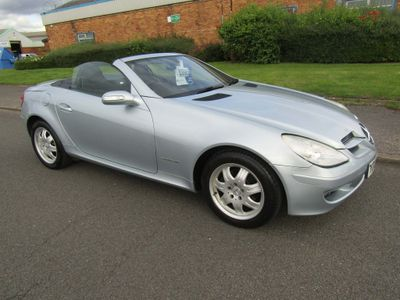 MERCEDES-BENZ SLK Convertible 1.8 SLK200 Kompressor Edition 10 2dr