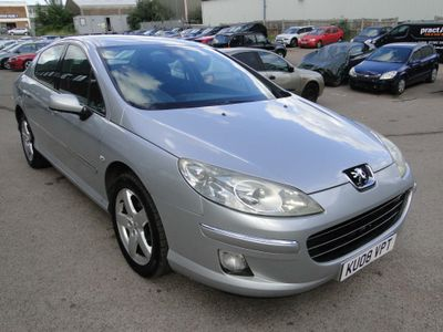 PEUGEOT 407 Saloon 2.0 HDi Sport 4dr