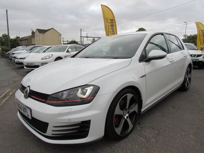 VOLKSWAGEN GOLF Hatchback 2.0 TSI BlueMotion Tech GTI DSG 5dr