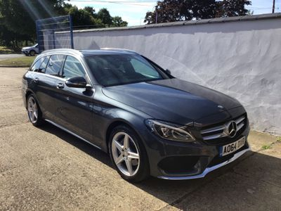 MERCEDES-BENZ C CLASS Estate 2.0 C200 AMG Line (Premium Plus) G-Tronic+ (s/s) 5dr