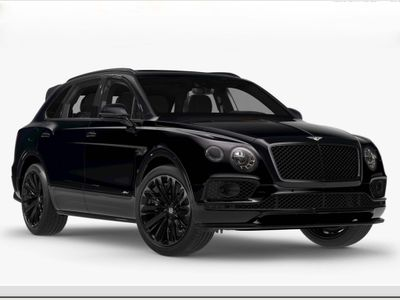 BENTLEY BENTAYGA SUV 6.0 W12 Speed Auto 4WD 5dr 5 Seat