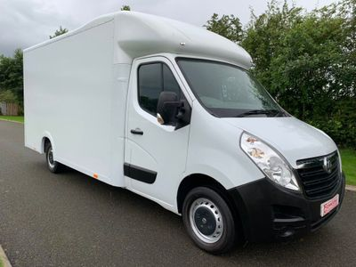VAUXHALL MOVANO Dropside 2.3 CDTI F3500 L3H1 Luton 2dr (Low floor)