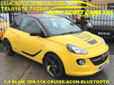 VAUXHALL ADAM Hatchback 1.4 16v SLAM Hatchback 3dr