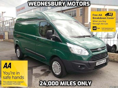 FORD TRANSIT CUSTOM Panel Van 2.2 TDCi 330 L2H2 Trend Panel Van 5dr