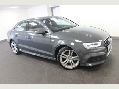 AUDI A3 Saloon 1.5 TFSI CoD S line S Tronic (s/s) 4dr