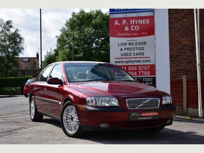 VOLVO S80 Saloon 2.4 D5 S 4dr