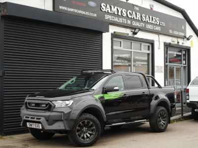 FORD RANGER Pickup 3.2 TDCi Limited 1 Double Cab Pickup Auto 4x4 4dr