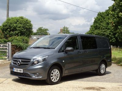 MERCEDES-BENZ VITO Other 2.1 114CDI BlueTEC Long Crewcab Van 5dr