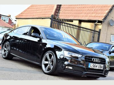 AUDI A5 Hatchback 1.8 TFSI Black Edition Sportback Multitronic 5dr