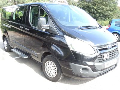 FORD TOURNEO CUSTOM Other LWB 9 Seat TAXI with Wheel chair Acces ,