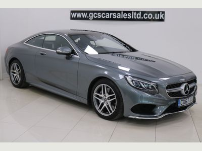 MERCEDES-BENZ S CLASS Coupe 4.7 S500 V8 AMG Line G-Tronic (s/s) 2dr