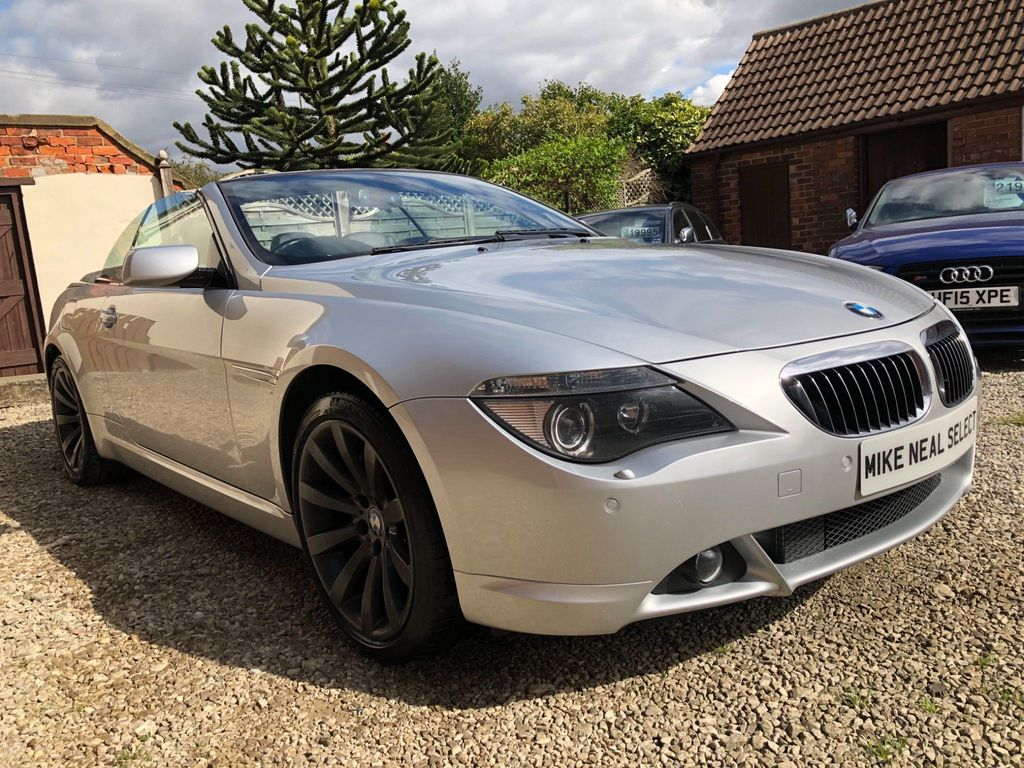 BMW 6 SERIES Convertible 4.8 650i Sport 2dr