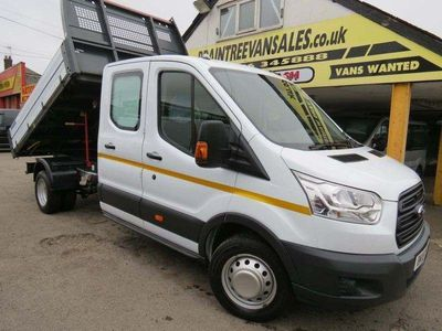 FORD TRANSIT Tipper 2.0 TDCi 350 L3H1 Double Cab 1-Way Tipper 4dr (EU6)