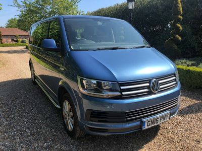 VOLKSWAGEN TRANSPORTER SHUTTLE Other 2.0 TDI BlueMotion Tech T32 S Mini Bus DSG 5dr (EU6, SWB)