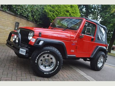 JEEP WRANGLER Convertible 4.0 Sport Soft top 4x4 3dr