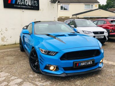 FORD MUSTANG Coupe 5.0 V8 GT Shadow Edition Fastback SelShift 2dr