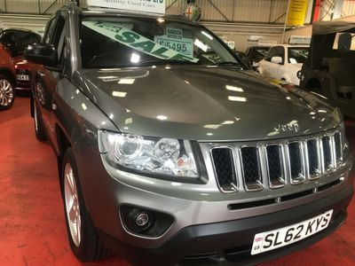 JEEP COMPASS SUV 2.2 CRD Limited 4WD 5dr