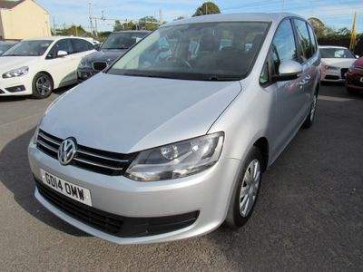 VOLKSWAGEN SHARAN MPV 2.0 TDI BlueMotion Tech S DSG (s/s) 5dr