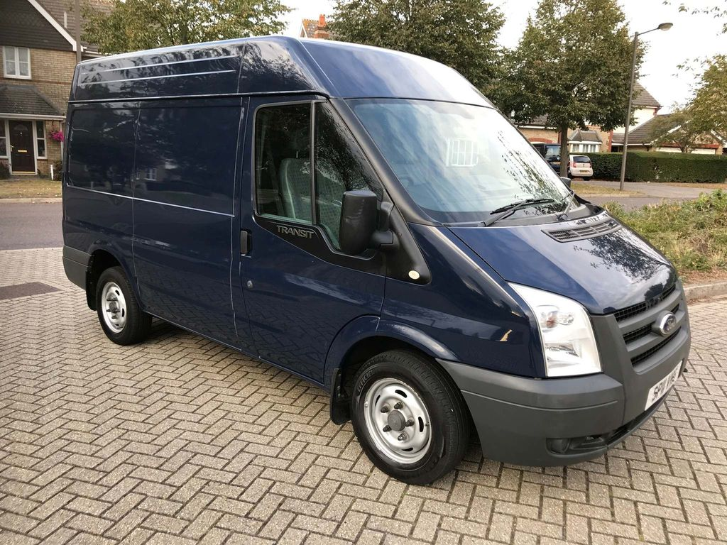 FORD TRANSIT Panel Van 2.2 TDCi Duratorq 280 Medium Roof Van 3dr (SWB)