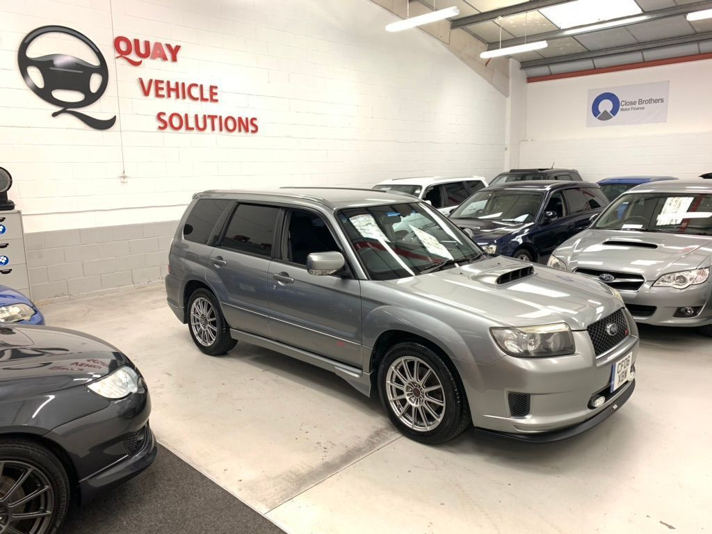 SUBARU FORESTER SUV JDM SG5 CROSS SPORT 2.0L TURBO S EDITION