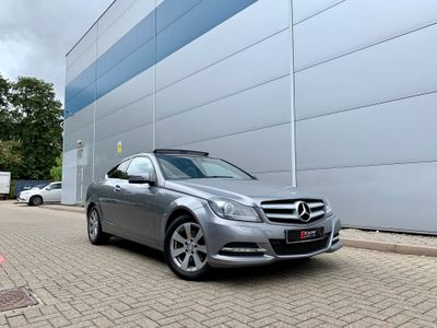 MERCEDES-BENZ C CLASS Coupe 2.1 C220 CDI SE (Executive Premium Plus) 2dr