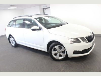 SKODA OCTAVIA Estate 1.6 TDI SE Technology (s/s) 5dr