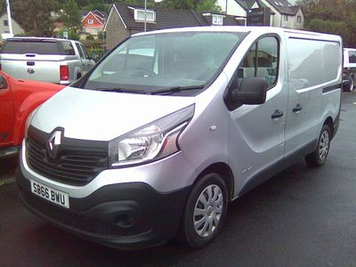 RENAULT TRAFIC Other 1.6 dCi Energy SL27 Business Panel Van 4dr (EU6)