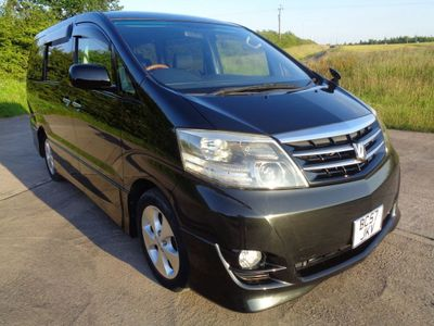 TOYOTA ALPHARD MPV 2.4 8 Seat Aero Grade 4 Elec/side/Rear Doors With FSH Twin E/Side and Rear