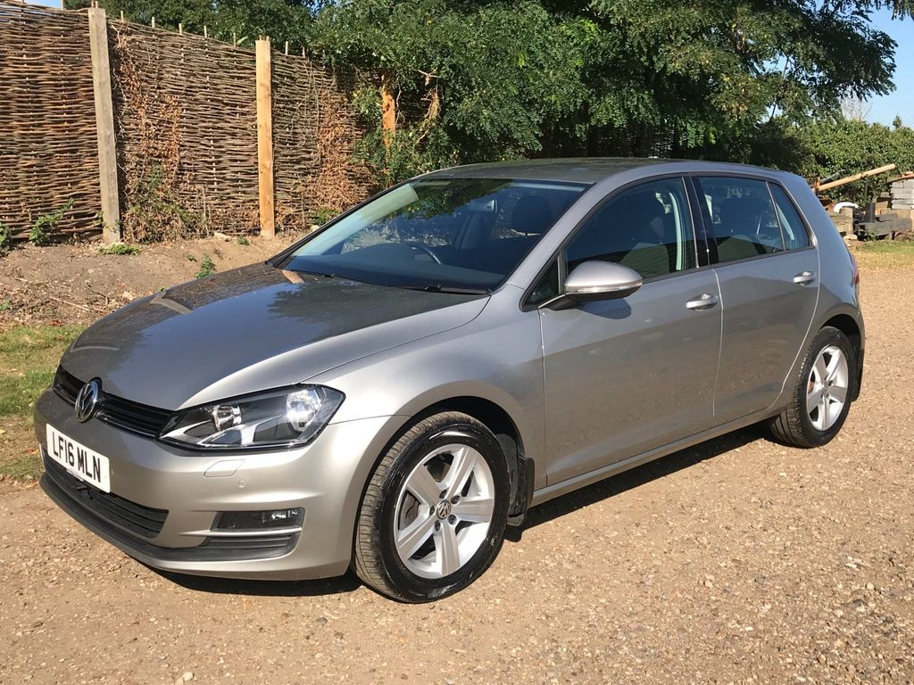 VOLKSWAGEN GOLF Hatchback 1.6 TDI BlueMotion Tech Match Edition (s/s) 5dr