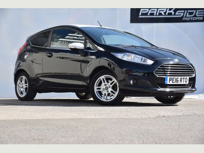 FORD FIESTA Hatchback 1.25 Zetec Black Edition 3dr