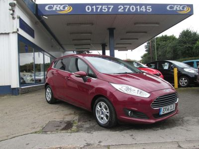 FORD FIESTA Hatchback 1.6 TDCi ECOnetic Titanium 5dr