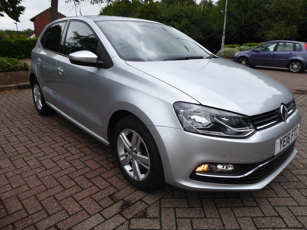 VOLKSWAGEN POLO Hatchback 1.2 TSI BlueMotion Tech Match (s/s) 5dr