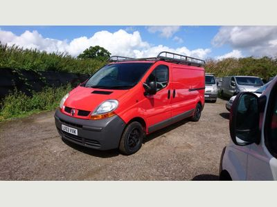 RENAULT TRAFIC Other 1.9 TD dCi LL29 Panel Van 4dr