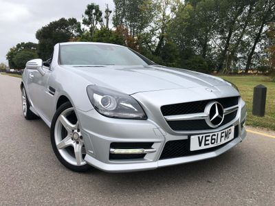MERCEDES-BENZ SLK Convertible 1.8 SLK250 BlueEFFICIENCY AMG Sport Edition 125 7G-Tronic Plus 2dr