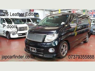 NISSAN ELGRAND MPV ME51 Black Leather Edi, Sunroof, P Doors