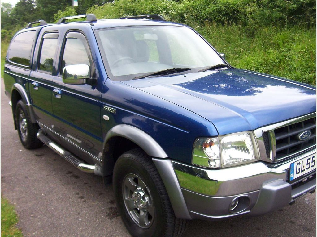 FORD RANGER Pickup 2.5 TDdi Wildtrak Double Cab Crewcab Pickup 4dr