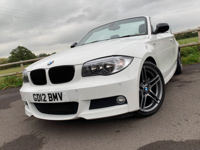 BMW 1 SERIES Convertible 2.0 120d Sport Plus 2dr