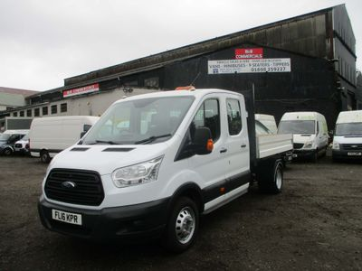 FORD TRANSIT Tipper 2.2 TDCi 350 L3H1 Double Cab Chassis Cab RWD 4dr