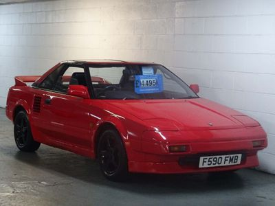 TOYOTA MR2 Coupe 1.6 T Bar 2dr