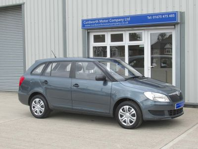SKODA FABIA Estate 1.2 12v S 5dr