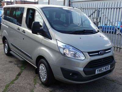 FORD TOURNEO CUSTOM Other 2.2 TDCi 300S Trend Low Roof Bus 5dr (8 Seats, SWB)