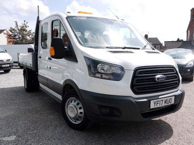 FORD TRANSIT Tipper 2.2 TDCi 350 L3H1 Double Cab 1-Way Tipper RWD DRW 4dr