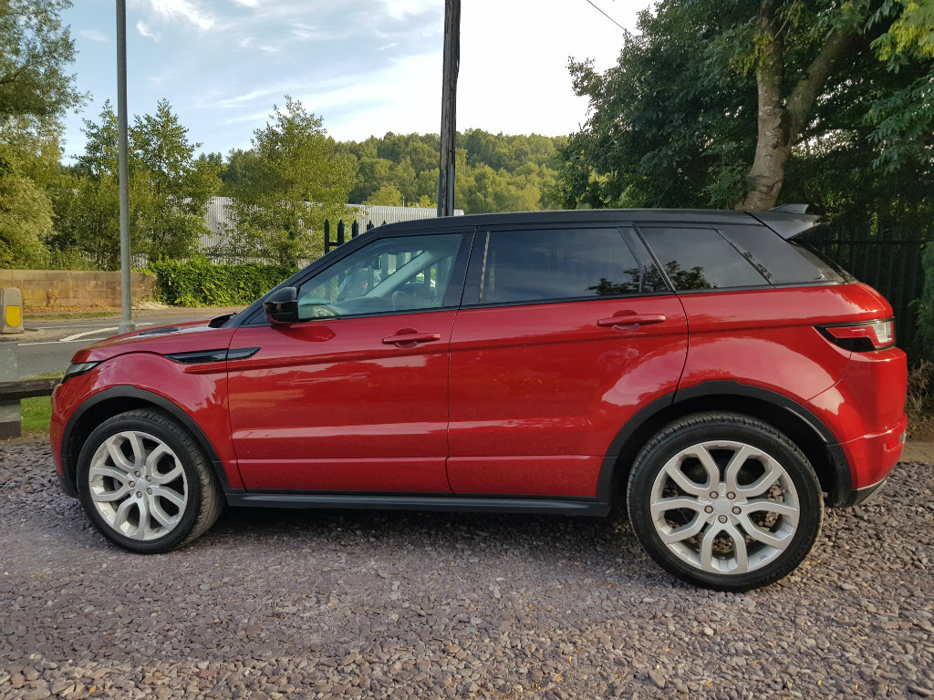LAND ROVER RANGE ROVER EVOQUE SUV 2.0 TD4 HSE Dynamic AWD 5dr